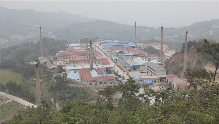 安化经开区高明循环经济工业园全景图