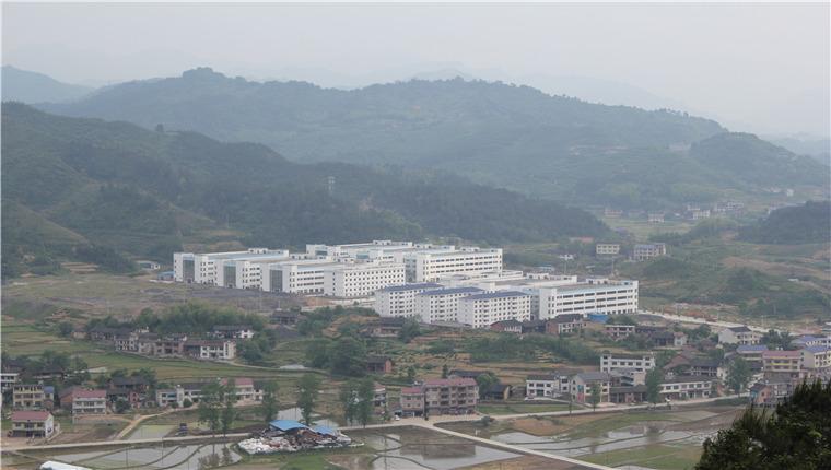 安化经开区梅城工业园全景图